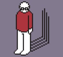 Sad Pixel Man. by dudewithhair