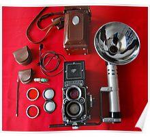 Rolleiflex Equipment Poster