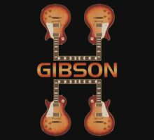Gibson Les Paul (FB) decoration Clothing & Stickers by goodmusic
