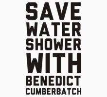 Save Water Shower With Benedict Cumberbatch by Look Human
