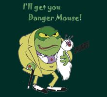 I will get you Danger Mouse! by kobalos