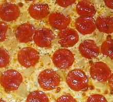 Food - Pizza  by Raccoon-god