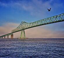 Astoria-Megler Bridge by Cee Neuner