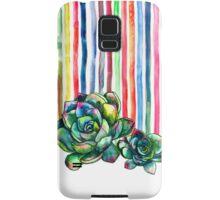 Rainbow Succulents Samsung Galaxy Case/Skin