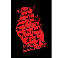 The Tell-Tale Heart by Edgar Allan Poe Photographic Print