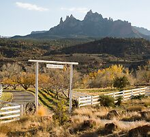 Grand View Ranch and Eagle Crags Springdale Utah by Robert Ford