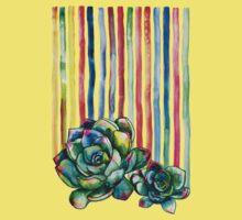 Rainbow Succulents Kids Clothes