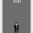 2nd Doctor Minimalist Poster by MrSaxon
