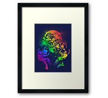 Space Disco Framed Print