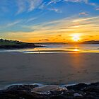 Polzeath Sunset 2 by Chris Thaxter