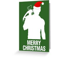 Daryl Dixon Christmas Design (Light) Greeting Card