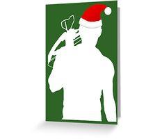 Daryl Dixon Textless Christmas Design (Light) Greeting Card