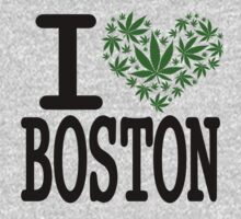 I love Boston Marijuana  by turfinterbie