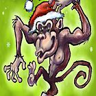 Christmas Monkey by Kevin Middleton