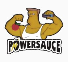 Powersauce! - The Simpsons by TheFinalDonut