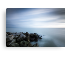 300 second exposure, Eastbourne seafront Canvas Print