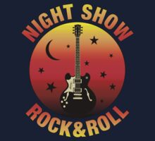 Night Show Rock&roll decoration Clothing & Stickers by goodmusic