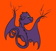 Purple Baby Dragon Rider Kids Clothes