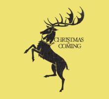 christmas winter is coming baratheon by websta