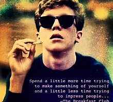 Breakfast Club quote by pickleperson