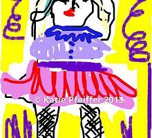 Twirl! Ballerina!  Twirl! by Kater