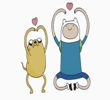 Jake and Finn ♥ you  by HoseeGee