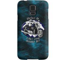 Triumph Thunderbird Drive It Like You Stole It Samsung Galaxy Case/Skin