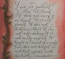 """""""Love Is""""  by Melissa Goza"""