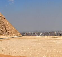 Plateau of the Pyramids Panorama by Lewis Gardner Photography
