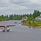 Landing on the Chena by Graeme  Hyde