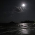 Full Moon over Choeng Mon Beach by DAdeSimone