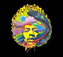Jimi Hendrix by anthonyv77