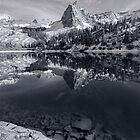Lake Blanche in Black and White by Mavourneen Strozewski