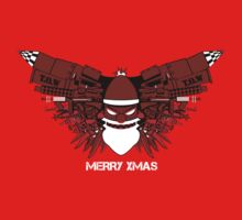 Robot Santables by Crocktees