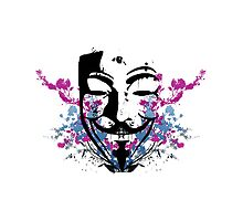 V for Vendetta Flower by Chango