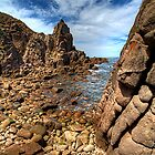 Rocky coast by collpics