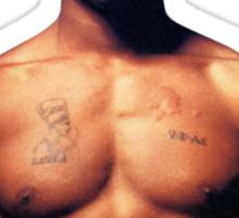 Shirtless Tupac  Sticker