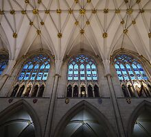 Inside York Minster by ADayToRemember