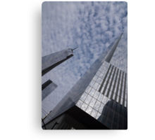 Fascinated with Manhattan - Sky, Glass and Skyscrapers Canvas Print
