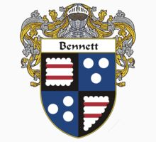 Bennett Coat of Arms/Family Crest by William Martin