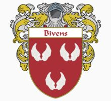 Bivens Coat of Arms/Family Crest by William Martin