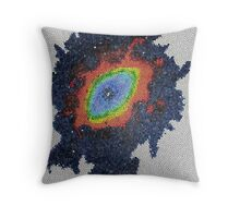 The Eye Of God - Stained Glass Throw Pillow