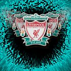 Liverpool FC badge on green by Paul Madden