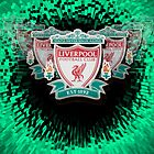 Liverpool FC badge on light green by Paul Madden