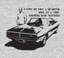 To Paul Walker : I live my life a quarter mile at a time. by alconchel22