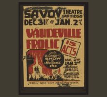 """Savoy Theatre San Diego"" - Retro Poster by whiteflash"
