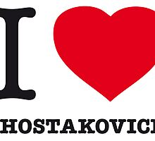 I ♥ SHOSTAKOVICH by eyesblau