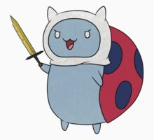 Adventuring Catbug by sylvaticprawn