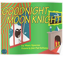 Goodnight Moon Knight Poster