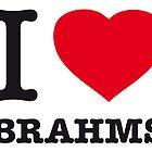 I ♥ BRAHMS by eyesblau